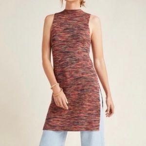 Anthropology Tami Ribbed Tank Tunic Dress XS